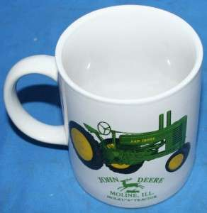 John Deere Model A Tractor Coffee Cup Mug Beverage Glassware