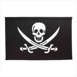 36351 jolly roger wall banner when the jolly roger flew
