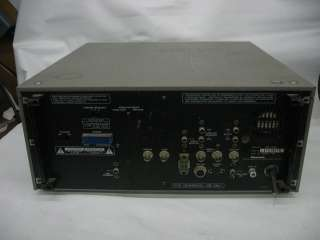 Panasonic AG 7510 Professional SVHS/VHS Player