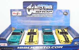Maisto Custom Shop 1967 Ford Mustang GT diecast car 124 G scale # Y