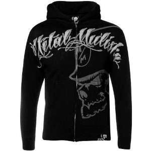 Metal Mulisha Youth Black Killagraphy Full Zip Hoody