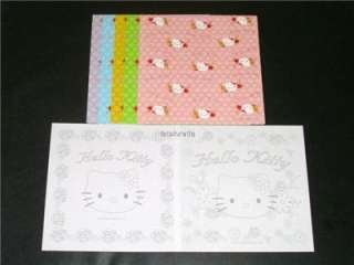 Origami Sanrio Melody Hello Kitty Folding Paper Set A