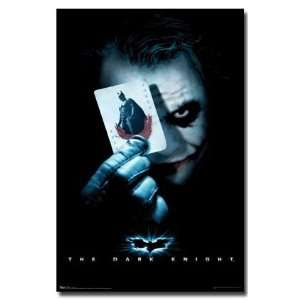 DARK KNIGHT ~ JOKER CARD ~ Heath Ledger ~ MOVIE POSTER