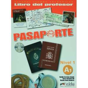 Pasaporte ELE 1 (A1). Libro del profesor + CD Audio (Spanish Edition)