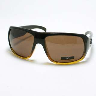 FOX Mens THICK Frame Casual Sunglasses DARK BROWN