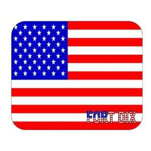US Flag   Fort Dix, New Jersey (NJ) Mouse Pad: Everything