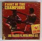 MUHAMMAD ALI VS JOE FRAZIER BOXING HANDBILL