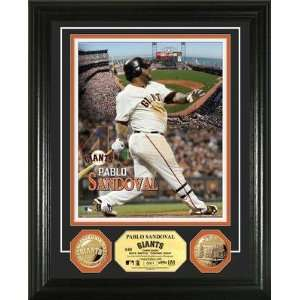 Pablo Sandoval San Francisco Giants Gold Coin Photo Mint