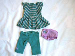 New American Girl   NEW ITEM   McKenna Doll Outfit ONLY