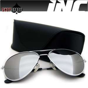 Aviator Sunglasses Vintage Retro Pilot Cop Outdoor Mirrored   A1