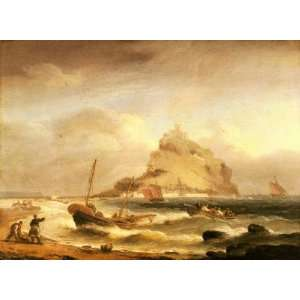 rowing in before St Michaels Mount, By Luny Thomas Home & Kitchen