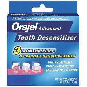 Orajel Advanced Tooth Desensitizer: Health & Personal Care