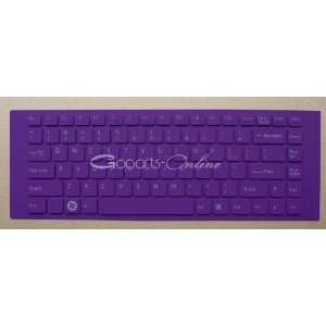 Purple Keyboard Cover/Skin Protector for Sony VAIO VGN NW