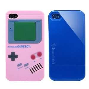 2pcs Set Nintendo Game Boy Silicone Case Light Pink