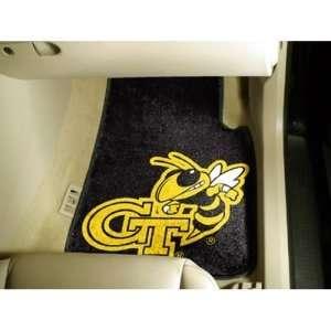 Georgia Tech Yellow Jackets NCAA Car Floor Mats Black