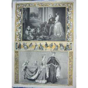 1842 QUEEN PHILIPPA PRINCE CONSORT BUCKINGHAM PALACE: Home