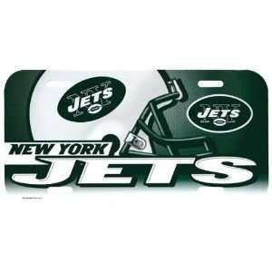 New York Jets   Giant Helmet License Plate, NFL Pro