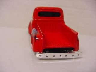 ROD UNDERGROUND 1956 FORD TRUCK STEPSIDE RED 1/43 DIECAST NEW