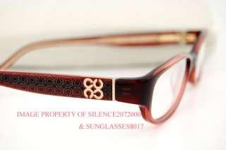 3f933cd9314 ... New COACH Eyeglasses Frames 2012 GWENDOLYN BURGUNDY ...