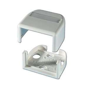 Ortronics Series II Almond 2 Port Surface Mount Box OR