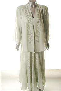 Mother of the Bride or Groom Dress & Jacket in Sage Green #699