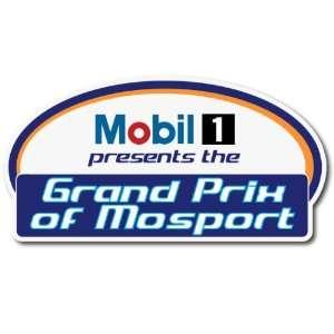 Mobil 1 Grand Prix of Motorsport Car Bumper Sticker Decal