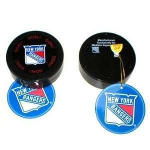 NHL New York Rangers Sound Puck Case Pack 48 Sports