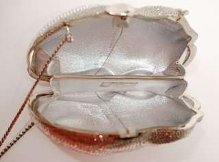 Swarovski Crystals Minaudiere Purse/Bag Perfect Guar Auth