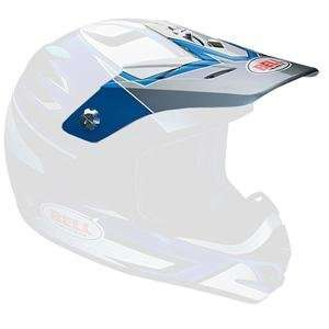 Replacement Visor for SC X Helmet     /Python Blue/Silver: Automotive