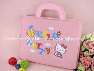 HelloKitty Mini Laptop Case Computer Bag Pink 14