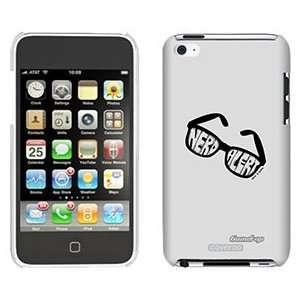 Nerd Alert by TH Goldman on iPod Touch 4 Gumdrop Air Shell