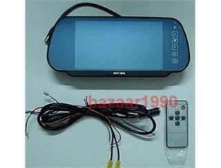 TFT LCD Color Screen Car Monitor Rearview Reverse
