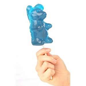 Giant Gummy Bear On A Stick Cherry  Grocery & Gourmet Food