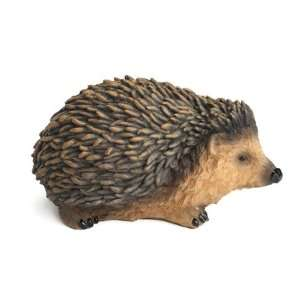 Nature Craft Hand Painted Hedgehog Figure Statue Sculpture