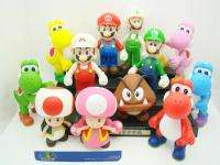 Super Mario Bros Lot 12 Pcs 5 GOOMBA TOAD Figure/MR62