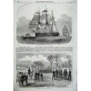 1855 Ship Nankin Victoria Rifle Corps Kilburn War Army