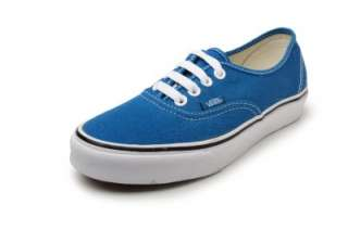 Vans Shoes Authentic Moroccan Blue/ True White