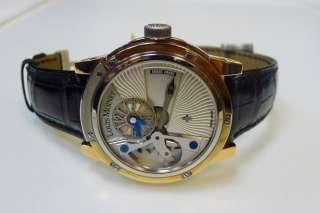 Louis Moinet Tempograph 10 second Retrograde Titanium & Rose Gold men