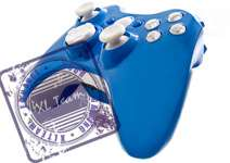 360 RAPID FIRE MODDED CONTROLLER BLUE MOD GEARS OF WAR GOW 3