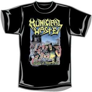 Municipal Waste   T shirts   Band Clothing