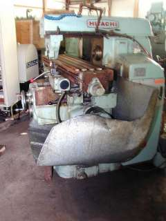 Hitachi Seiki Horizontal Milling Machine Model 2M P
