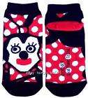 Disney Minnie Cubic Mouth Unisex Low Cut Ankle Socks