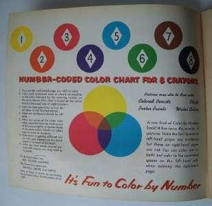 1961 HUCKLEBERRY HOUND COLORING BOOK Hanna Barbera
