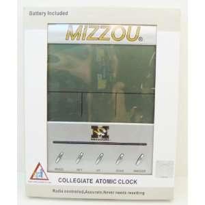 MISSOURI TIGERS (MIZZOU) Collegiate Digital Atomic Clock