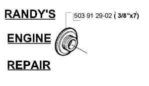 Worm gear Wheel Oil Pump Husqvarna 357xp, 359xp, 3/8
