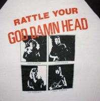 MEGADETH Vintage Concert SHIRT 80s TOUR T RARE ORIGINAL Peace Sells
