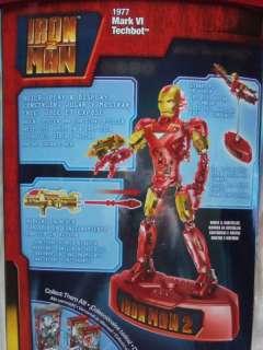 IRON MAN 2 TECHBOT MARK VI MEGA BLOKS 55 PC. SET