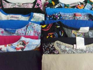 Vet Nurse Medical Dental Scrubs Lot of 8 Outfits Sets Small S CAROLS