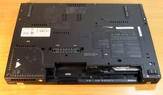 IBM Lenovo ThinkPad T61 Laptop Duo 2.0 Ghz 14 Widescreen for Parts AS