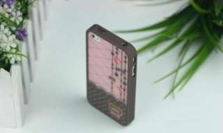cute lovely Hard Cover Skin case for iPhone 4/4S retail package
